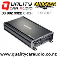 Kicker CX1200.1 1200W Mono Channel Class D Car Amplifier with Easy Finance