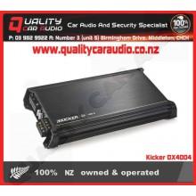 Kicker DX4004 200W 4 channel car amplifier - Easy LayBy