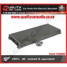 Kicker EX20001 2000W Mono Car Amplifier - Easy LayBy