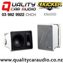 Kicker KB6000 Full Range 150W (75W RMS) 2 Way Speaker Enclosure (pair) with Easy Finance