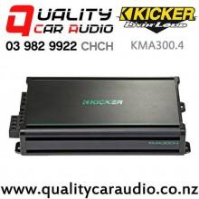 Kicker KMA300.4 150W 4 Channel Class D Marine Amplifier with Easy Finance