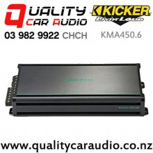 Kicker KMA450.6 150W 6 Channel Class D Marine Amplifier with Easy Finance