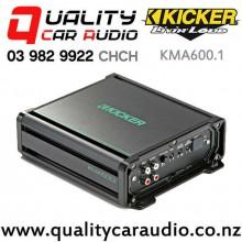 Kicker KMA600.1 600W Mono Channel Class D Marine Amplifier with Easy Finance
