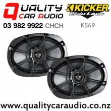 "Kicker KS69 6x9"" 270W (90W RMS) 2 Ways Coaxial Car Speakers (pair) with Easy Finance"