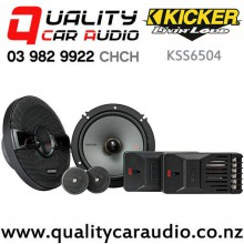 "Kicker KSS6504 6.5"" 200W (125W RMS) 2 Way Component Car Speakers (pair) with Easy Finance"