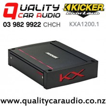Kicker KXA1200.1 1200W Mono Channel Class D Car Amplifer with Easy Finance