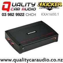 Kicker KXA1600.1 1600W Mono Channel Class D Car Amplifier with Easy Finance