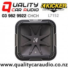 "Kicker L7152 15"" 2400W (1200W RMS) Dual 2 ohm Voice Coil Car Subwoofer with Easy Finance"