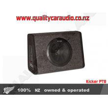 Kicker PT8 8' Sub & 100w Amp In Thin Profile - Easy LayBy