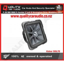 "Kicker S10L72 10"" 600W Dual 2 ohm Subwoofer - Easy LayBy"