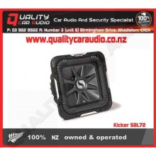 "Kicker S8L72 8"" 450W Dual 2 ohm Subwoofer - Easy LayBy"