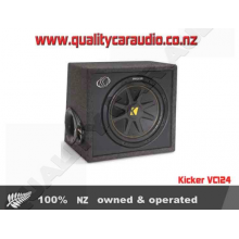 "Kicker VC124 12"" 4 ohm 150W Subwoofer Enclosure - Easy LayBy"