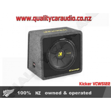 "Kicker VCWS122 12"" 2 ohm 600W subwoofer Enclosure - Easy LayBy"