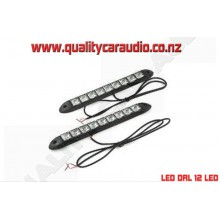 LED DRL 12 LED Daytime running light - Easy LayBy