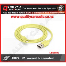 Li5USBYL Lightning to USB Cable Yellow - Easy LayBy