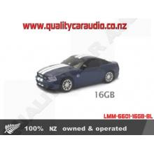 LMM-6601-16GB-BL Landmice Ford Mustang Blue USB 16GB - Easy LayBy