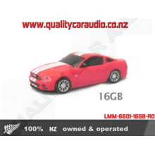 LMM-6601-16GB-RD Landmice Ford Mustang Red USB 16G - Easy LayBy