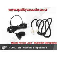 Mazda Anycar Lead + Bluetooth Microphone - Easy LayBy
