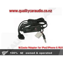 M.Costa Adapter for iPod/iPhone & AUX in Mazda - Easy LayBy