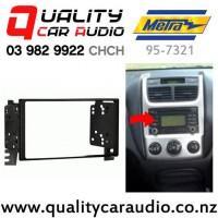 Metra 95-7321 Double Din Stereo Facial Kit for Kia & Hyundai 2005 to 2009 with Easy Finance