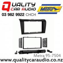 Metra 95-7504 2003 - 2009 Mazda 3 Axela Facia Kits for Double Din Size Stereo with Easy Layby