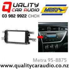 95-8875 Toyota Corolla Auris 2012 on Double Din 200mm Car Stereo Facial Kit