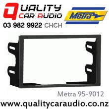 95-9012 Double Din Stereo Facia for Volkswagen 1999 - 2006 with Easy LayBy