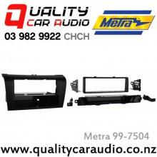 Metra 99-7504 2003 - 2009 Mazda 3 Axela Facia Kits for Single Din Size Stereo with Easy Layby