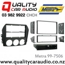 Metra 99-7506 2006 - 2008 Mazda MX-5 For Single & Double Din Stereo With Easy LayBy
