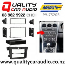 Metra 99-7520B Stereo Facial Kit for Mazda CX-7 From 2010 to 2012 Black with Easy Finance