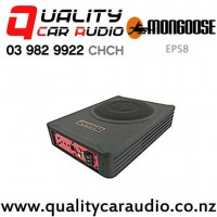 """Mongoose EPS8 8"""" 550W (225W RMS) Slim Powered Car Subwoofer with Easy Finance"""