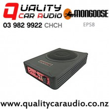 "Mongoose EPS8 8"" 550W (225W RMS) Slim Powered Car Subwoofer with Easy Finance"