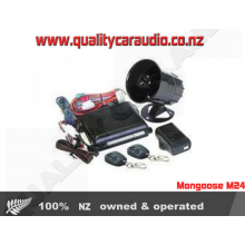 Mongoose M24 Car 24V Alarm FITTED - Easy LayBy