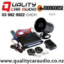Mongoose M24 24V Engine Immobiliser 2xRemote Central Lock Shock Senser Car Alarm Fitted From $399 with Easy Finance