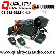 Mongoose M33 Alarm System with engine immobiliser with Easy Finance