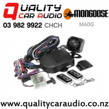 Mongoose M60g 5 Stars 2x Immobilizer, Impact Sensor, Glass Breaking Sensor, Door & Bonnet Protection and More Car Alarm with Easy Finance