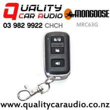 Mongoose MRC63G M60 Series - 3 Button Remote - Green Light 433Mhz with Easy Finance
