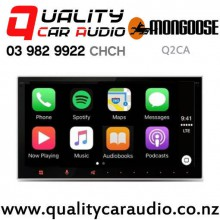 Mongoose Q2CA Apple CarPlay Android Auto Bluetooth USB NZ Tuner Subwoofer Out put Car Stereo with Easy Finance