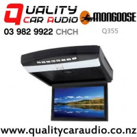"""Mongoose Q355 10.2"""" Roof Mount DVD Player with Easy Finance"""