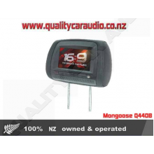 """Mongoose Q440B 9"""" Headrest DVD Player (Pair) - Easy LayBy"""