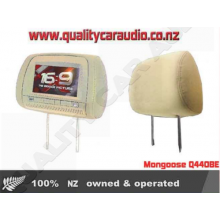 """Mongoose Q440BE 9"""" Headrest DVD Player (pair) - Easy LayBy"""