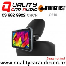 """Mongoose Q510 10.1"""" Hi Resolution Clip-on Headrest DVD Player with Easy Finance"""