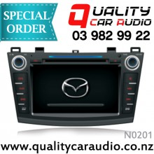 "N0201 8"" DVD NAV BT Unit For Mazda 3 12 On - Easy LayBy"