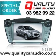 "N5115 7"" DVD NAV BT Unit For Hyundai ix35 - Easy LayBy"