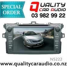 "N5222 8"" DVD BT NAV Unit For Toyota Corolla 08 11 - Easy LayBy"