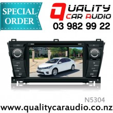 "N5304 7"" DVD NAV BT Unit For Toyota Corolla 2014 ON - Easy LayBy"