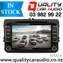 "NAVPRO N5474 7"" VW OEM Navigation Bluetooth DVD CD USB AUX NZ Tuners(no Map)"