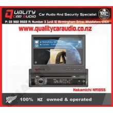 "Nakamichi NA1855 7"" DVD NAV S DIN Unit - Easy LayBy"