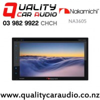 Nakamichi NA3605 Apple CarPlay Android Auto Navigation Bluetooth USB AUX DVD NZ Tuners 3x Pre Outs Car Stereo with Easy Finance