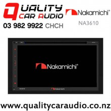 Nakamichi NA3610 Bluetooth Navigation USB SD CD DVD NZ Tuner 2x Pre Outs Car Stereo with Easy Finance